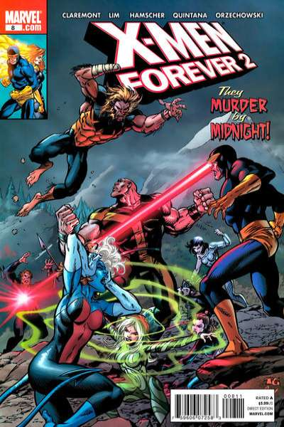 X-Men Forever 2 #8 comic books - cover scans photos X-Men Forever 2 #8 comic books - covers, picture gallery