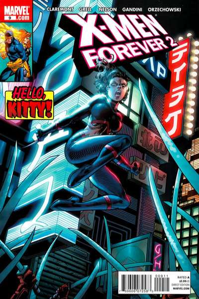 X-Men Forever 2 #9 Comic Books - Covers, Scans, Photos  in X-Men Forever 2 Comic Books - Covers, Scans, Gallery
