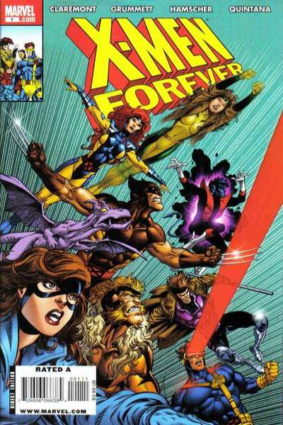 X-Men Forever #1 Comic Books - Covers, Scans, Photos  in X-Men Forever Comic Books - Covers, Scans, Gallery