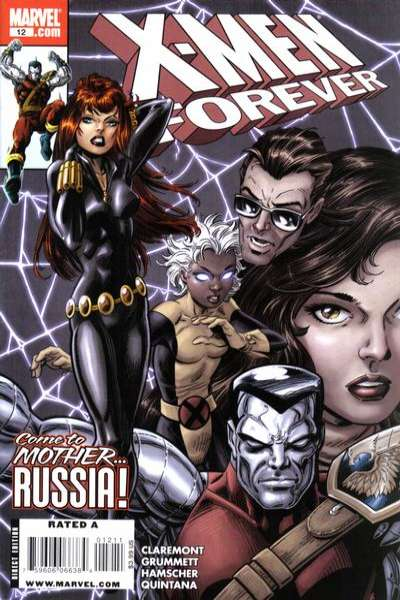 X-Men Forever #12 Comic Books - Covers, Scans, Photos  in X-Men Forever Comic Books - Covers, Scans, Gallery