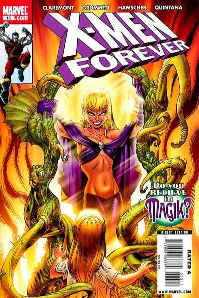 X-Men Forever #13 Comic Books - Covers, Scans, Photos  in X-Men Forever Comic Books - Covers, Scans, Gallery