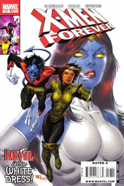 X-Men Forever #17 Comic Books - Covers, Scans, Photos  in X-Men Forever Comic Books - Covers, Scans, Gallery