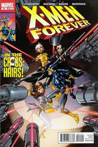 X-Men Forever #21 comic books - cover scans photos X-Men Forever #21 comic books - covers, picture gallery
