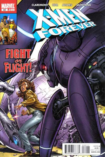X-Men Forever #22 comic books - cover scans photos X-Men Forever #22 comic books - covers, picture gallery