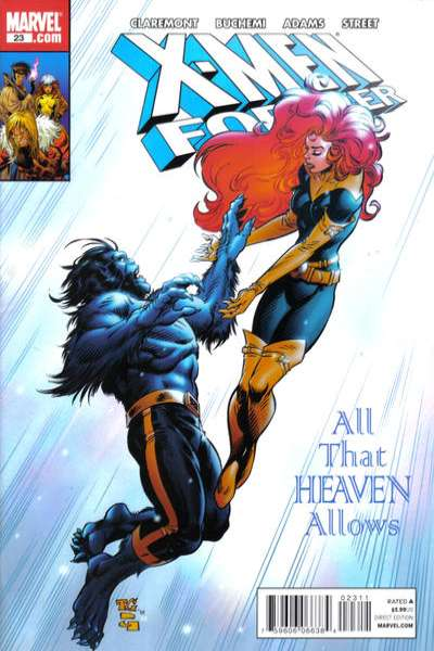X-Men Forever #23 comic books - cover scans photos X-Men Forever #23 comic books - covers, picture gallery