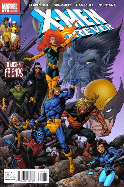 X-Men Forever #24 comic books - cover scans photos X-Men Forever #24 comic books - covers, picture gallery