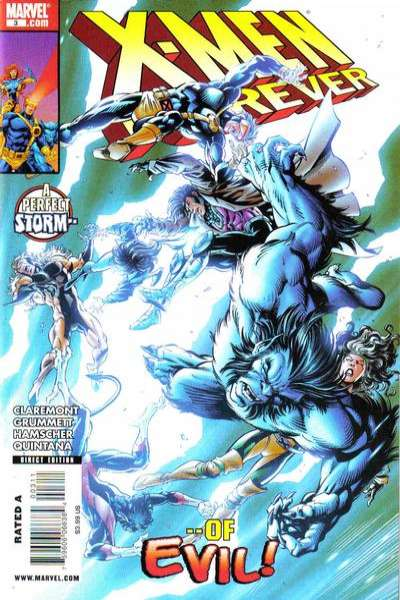 X-Men Forever #3 Comic Books - Covers, Scans, Photos  in X-Men Forever Comic Books - Covers, Scans, Gallery