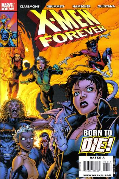 X-Men Forever #5 comic books - cover scans photos X-Men Forever #5 comic books - covers, picture gallery