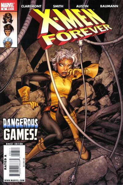 X-Men Forever #6 comic books - cover scans photos X-Men Forever #6 comic books - covers, picture gallery