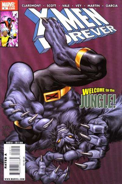 X-Men Forever #9 comic books - cover scans photos X-Men Forever #9 comic books - covers, picture gallery