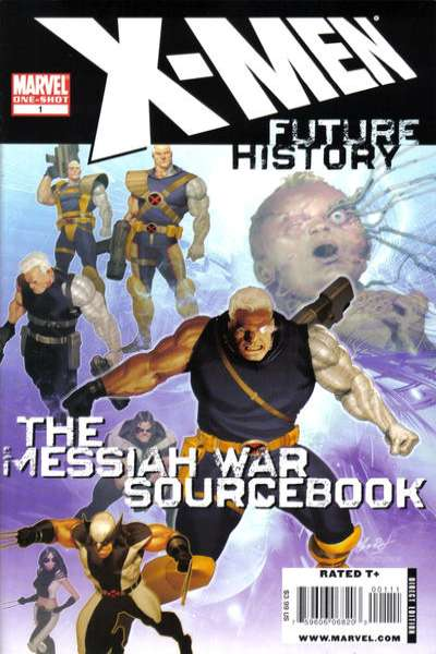 X-Men: Future History - The Messiah War Sourcebook #1 comic books for sale