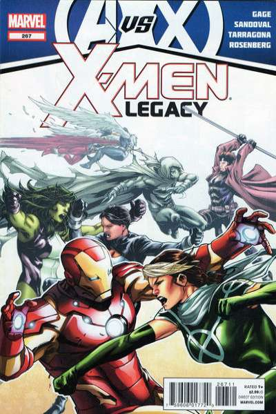 X-Men: Legacy #267 comic books - cover scans photos X-Men: Legacy #267 comic books - covers, picture gallery