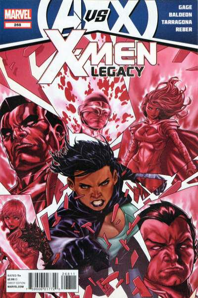 X-Men: Legacy #268 comic books - cover scans photos X-Men: Legacy #268 comic books - covers, picture gallery