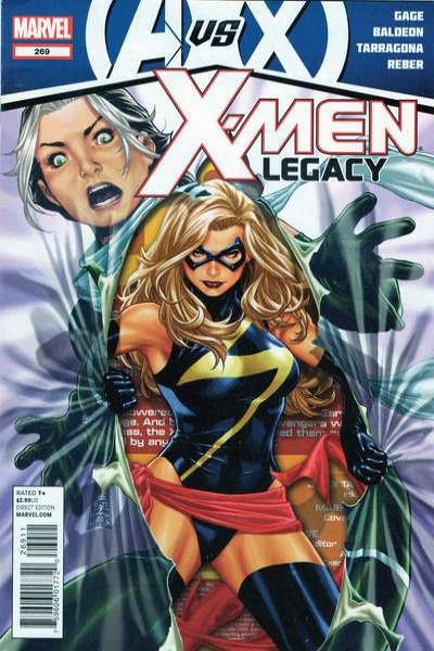 X-Men: Legacy #269 comic books - cover scans photos X-Men: Legacy #269 comic books - covers, picture gallery