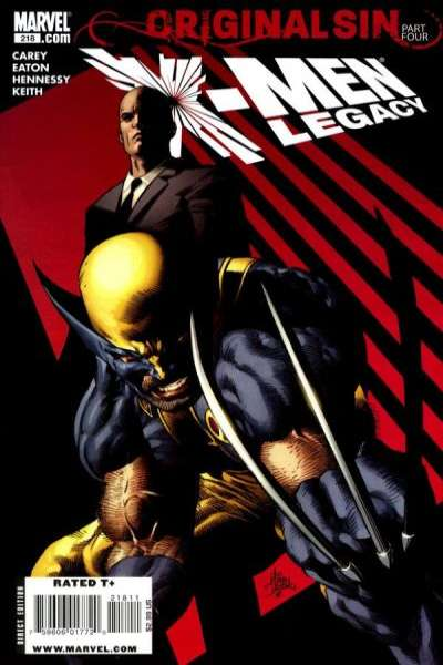 X-Men: Legacy #218 comic books for sale