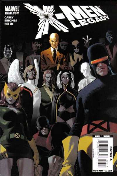 X-Men: Legacy #225 comic books - cover scans photos X-Men: Legacy #225 comic books - covers, picture gallery