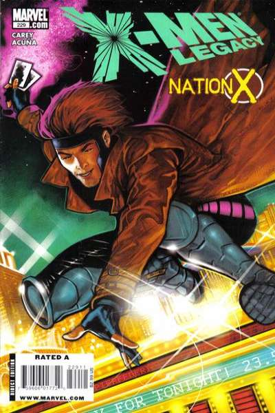 X-Men: Legacy #229 comic books - cover scans photos X-Men: Legacy #229 comic books - covers, picture gallery