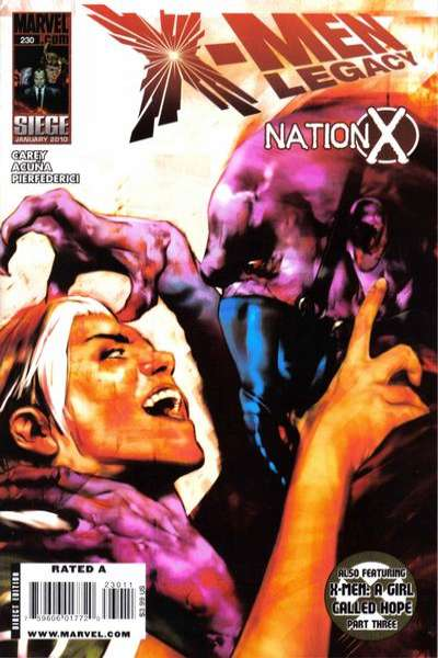 X-Men: Legacy #230 Comic Books - Covers, Scans, Photos  in X-Men: Legacy Comic Books - Covers, Scans, Gallery