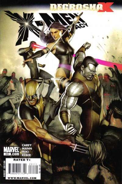 X-Men: Legacy #231 comic books - cover scans photos X-Men: Legacy #231 comic books - covers, picture gallery