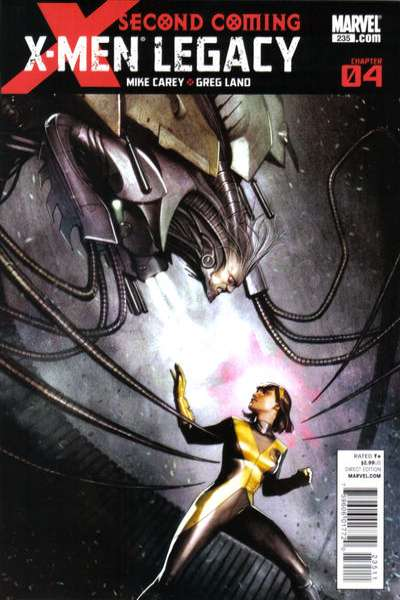X-Men: Legacy #235 comic books - cover scans photos X-Men: Legacy #235 comic books - covers, picture gallery