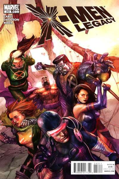 X-Men: Legacy #242 comic books for sale