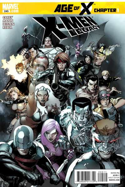 X-Men: Legacy #245 comic books - cover scans photos X-Men: Legacy #245 comic books - covers, picture gallery