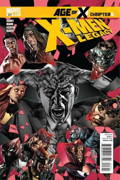 X-Men: Legacy #247 comic books - cover scans photos X-Men: Legacy #247 comic books - covers, picture gallery