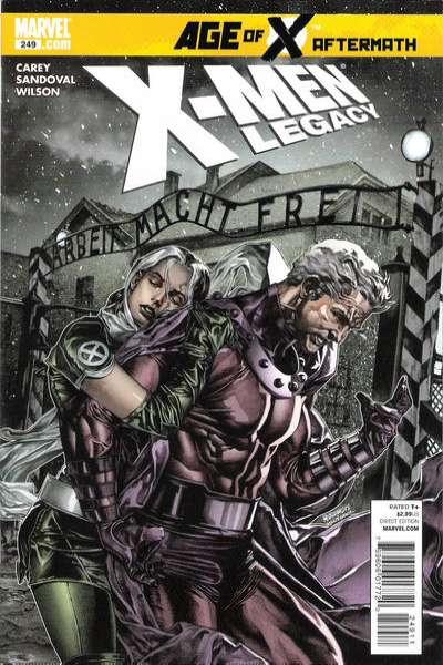 X-Men: Legacy #249 comic books - cover scans photos X-Men: Legacy #249 comic books - covers, picture gallery