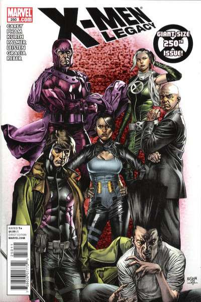 X-Men: Legacy #250 comic books - cover scans photos X-Men: Legacy #250 comic books - covers, picture gallery