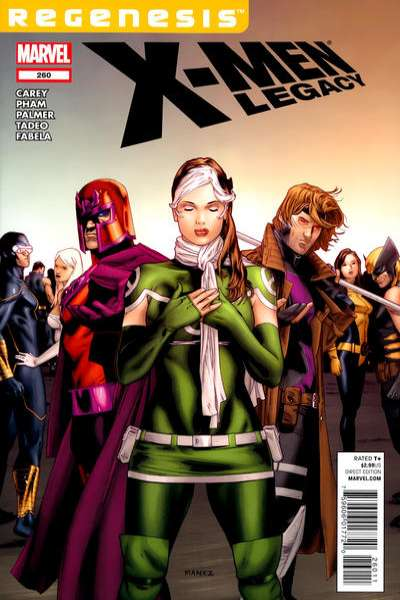 X-Men: Legacy #260 comic books - cover scans photos X-Men: Legacy #260 comic books - covers, picture gallery