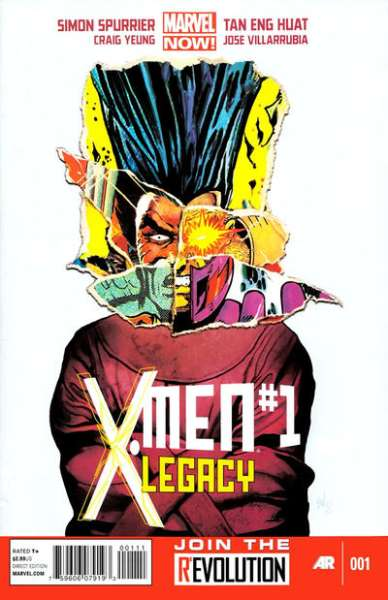X-Men: Legacy #1 comic books - cover scans photos X-Men: Legacy #1 comic books - covers, picture gallery