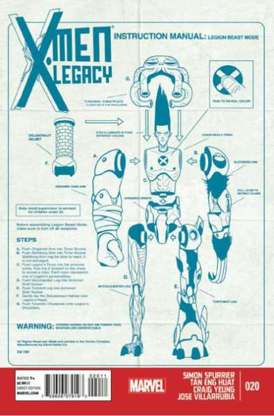 X-Men: Legacy #20 comic books for sale