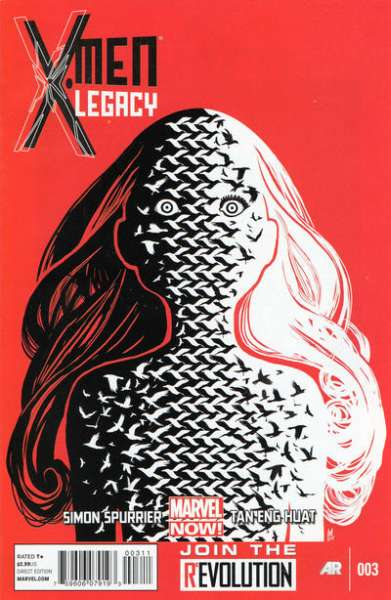 X-Men: Legacy #3 comic books for sale