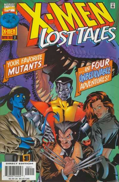 X-Men: Lost Tales #2 comic books - cover scans photos X-Men: Lost Tales #2 comic books - covers, picture gallery