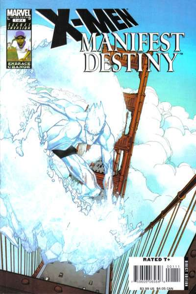 X-Men: Manifest Destiny #1 comic books - cover scans photos X-Men: Manifest Destiny #1 comic books - covers, picture gallery