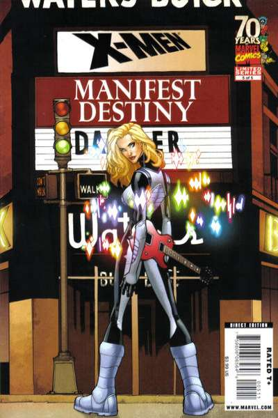 X-Men: Manifest Destiny #5 comic books - cover scans photos X-Men: Manifest Destiny #5 comic books - covers, picture gallery