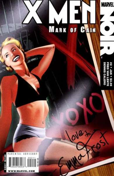 X-Men Noir: Mark of Cain #2 comic books for sale