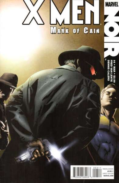 X-Men Noir: Mark of Cain #4 comic books - cover scans photos X-Men Noir: Mark of Cain #4 comic books - covers, picture gallery