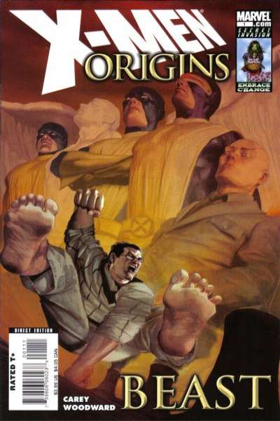X-Men Origins: Beast #1 Comic Books - Covers, Scans, Photos  in X-Men Origins: Beast Comic Books - Covers, Scans, Gallery