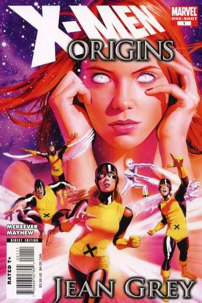 X-Men Origins: Jean Grey #1 Comic Books - Covers, Scans, Photos  in X-Men Origins: Jean Grey Comic Books - Covers, Scans, Gallery