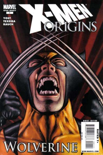 X-Men Origins: Wolverine comic books