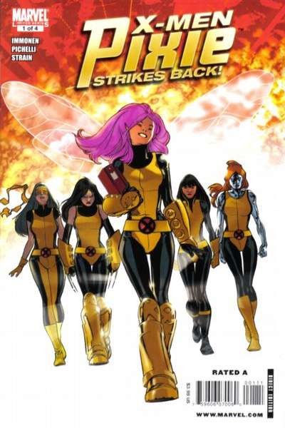 X-Men: Pixie Strikes Back comic books