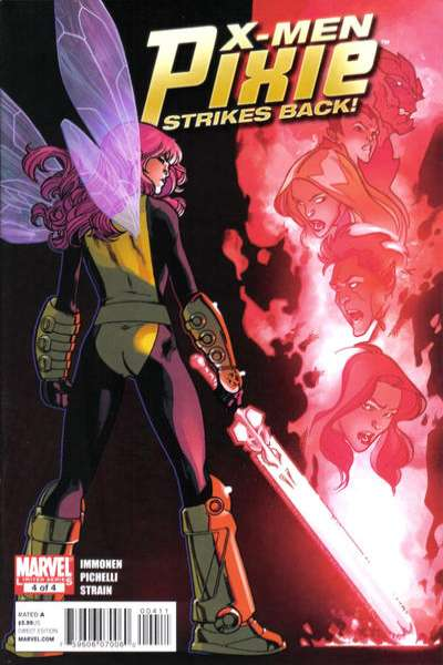 X-Men: Pixie Strikes Back #4 comic books for sale