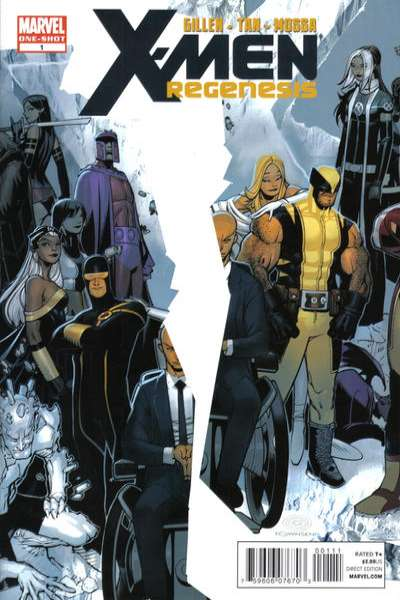 X-Men: Regenesis #1 comic books - cover scans photos X-Men: Regenesis #1 comic books - covers, picture gallery