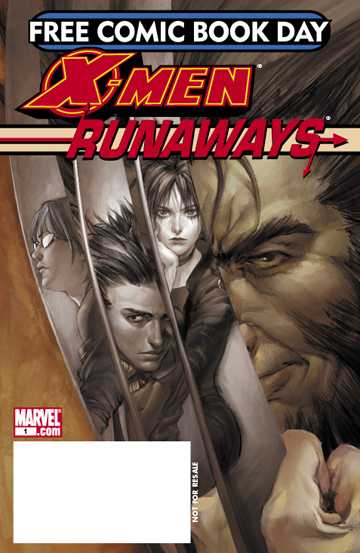 X-Men/Runaways comic books