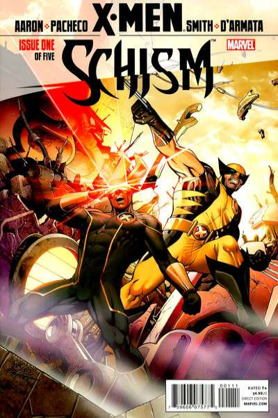 X-Men: Schism #1 comic books - cover scans photos X-Men: Schism #1 comic books - covers, picture gallery