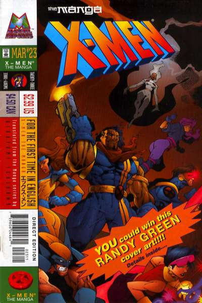 X-Men: The Manga #23 Comic Books - Covers, Scans, Photos  in X-Men: The Manga Comic Books - Covers, Scans, Gallery
