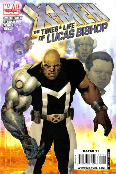 X-Men: The Times & Life of Lucas Bishop comic books