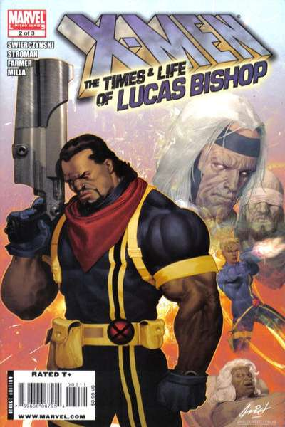 X-Men: The Times & Life of Lucas Bishop #2 comic books - cover scans photos X-Men: The Times & Life of Lucas Bishop #2 comic books - covers, picture gallery