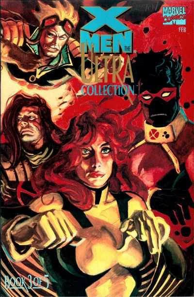 X-Men: The Ultra Collection #3 comic books - cover scans photos X-Men: The Ultra Collection #3 comic books - covers, picture gallery